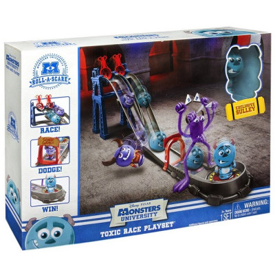 MONSTERS UNIVERSITY TOXIC RACE PLAYSET