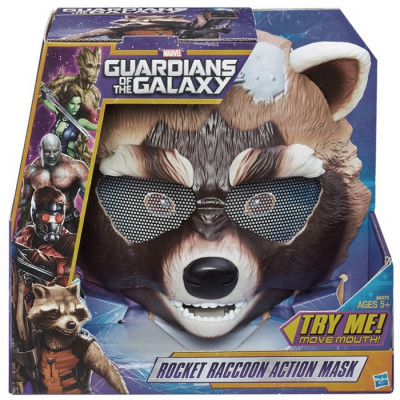 MÁSCARA ROCKET RACCOON ACTION MARVEL