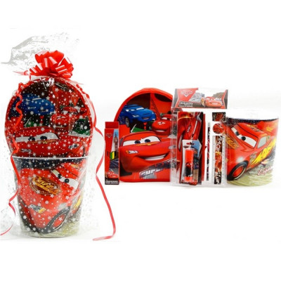 SET REGALO ESCOLAR CARS