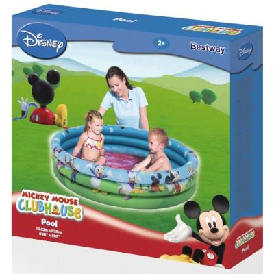 PISCINA 3 ANILLOS MICKEY MOUSE 122x25CM de la categoría Mickey Mouse