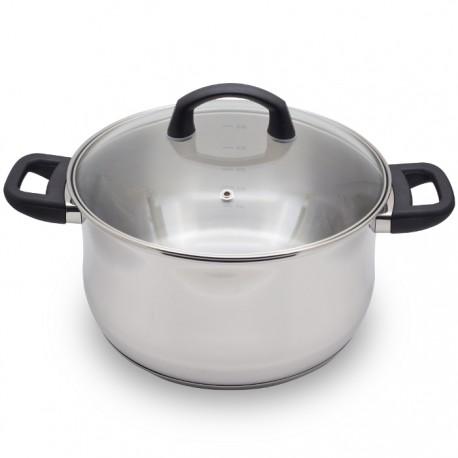 OLLA 24CM ACERO INOXIDABLE CON TAPA KRHÜNER de la categoría Para Cocinar Cocción