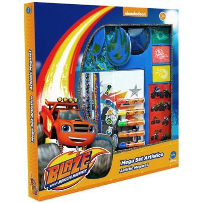 MEGA SET ARTÍSTICO HOLOGRÁFICO BLAZE de la categoría Blaze y los Monster Machines