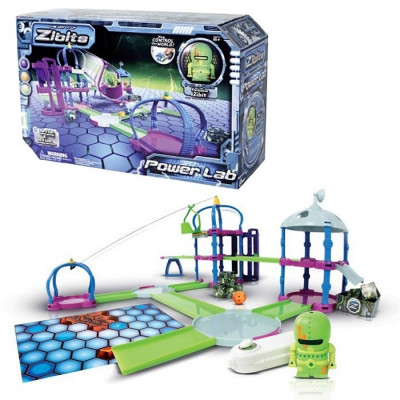 JUEGO THE WORLD OF ZIBITS POWER LAB PLAY SET