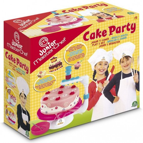 MASTER CHEF JUNIOR CAKE PARTY