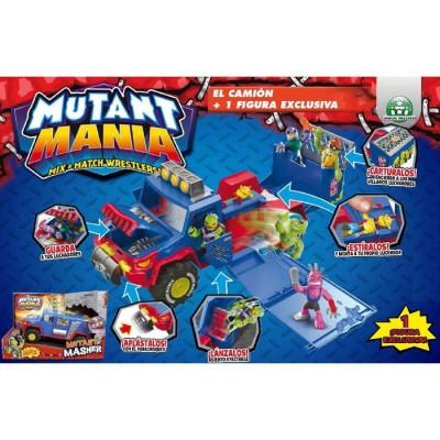 MUTANT MANIA EL CAMIÓN + 1 FIGURA EXCLUSIVA