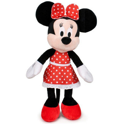 PELUCHE MINNIE PARTY DRESSES 30CM - ROJO