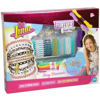 SOY LUNA - FOREVER FASHION SHINY DIAMONDS JERWELRY