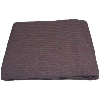 COLCHA MULTIUSOS 180x260CM - CAFÉ de la categoría Textil Dormitorio