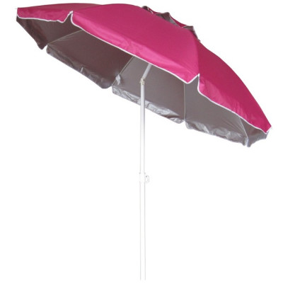 SOMBRILLA PLAYA RECLINABLE 175CM - FUCSIA