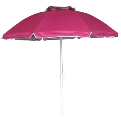 SOMBRILLA PLAYA RECLINABLE 175CM FUCSIA