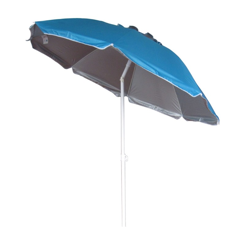 SOMBRILLA PLAYA RECLINABLE 175CM - AZUL