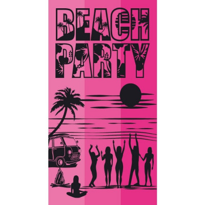 TOALLA DE PLAYA 90x170CM - BEACH PARTY