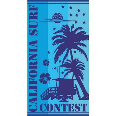 TOALLA DE PLAYA 90x170CM - SURF CONTEST