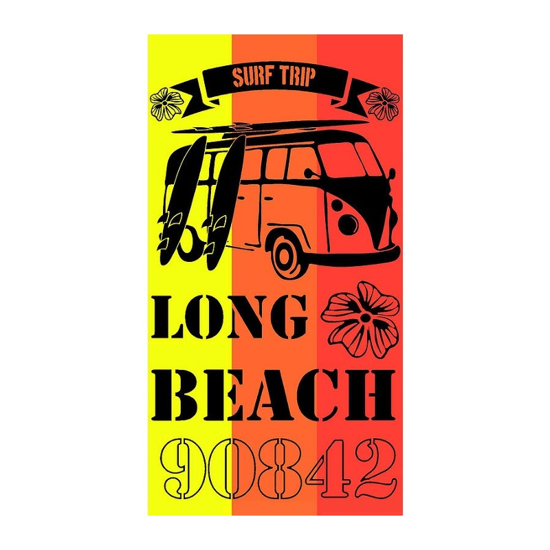TOALLA DE PLAYA 90x170CM - LONG BEACH
