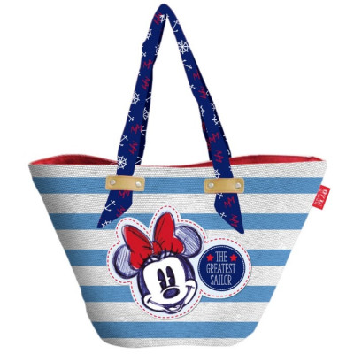 BOLSO PLAYA RAFIA MINNIE MOUSE