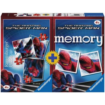PUZZLE 25-36-49 PZAS + MEMORY SPIDERMAN