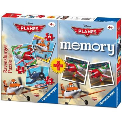 PUZZLE 25-36-49 + MEMORY AVIONES