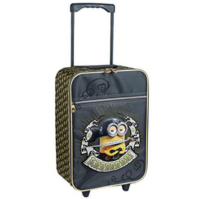 MALETA TROLLEY SOFT PIRATE MINIONS