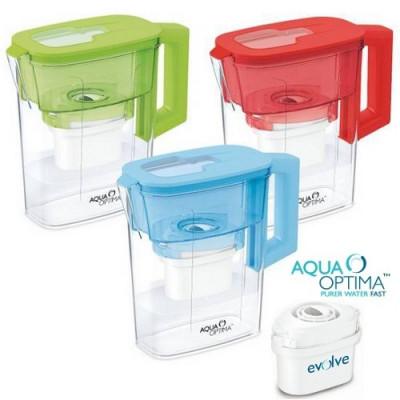 JARRA AGUA AQUA OPTIMA CON FILTRO - ROJO de la categoría Tratamiento del Agua