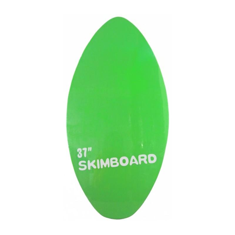 """SKIMBOARD DE MADERA 37"""" 94x47CM - VERDE"""