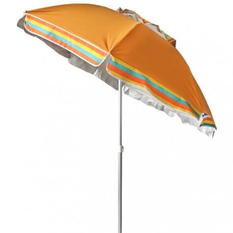 SOMBRILLA PLAYA RECLINABLE Ø170CM - NARANJA de la categoría Sombrillas de playa