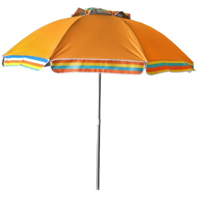 SOMBRILLA PLAYA RECLINABLE Ø170CM - NARANJA