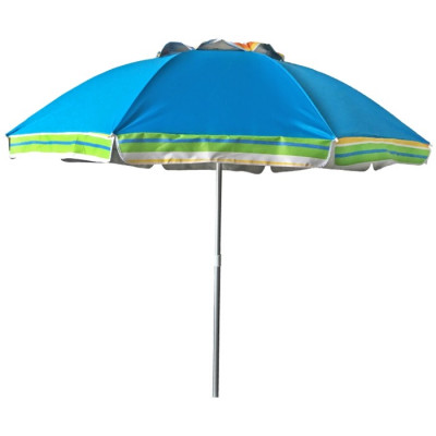 SOMBRILLA PLAYA RECLINABLE Ø170CM - AZUL