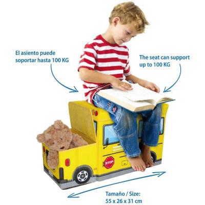 BAÚL PARA JUGUETES 55x26x31CM - MOD.2 de la categoría Orden Infantil