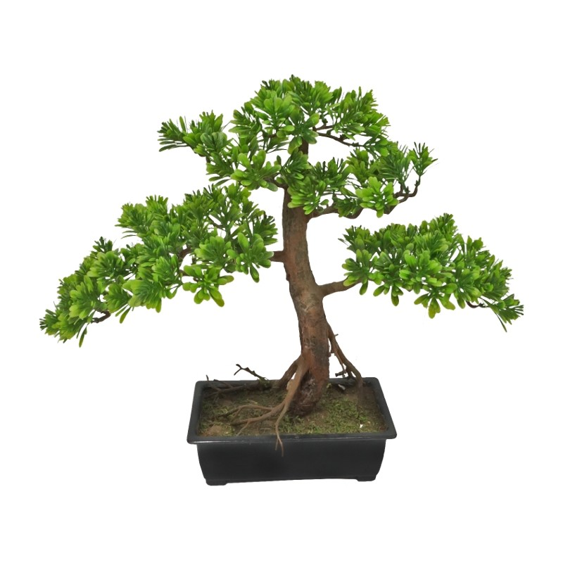 BONSAI ARTIFICIAL EN MACETA 41CM