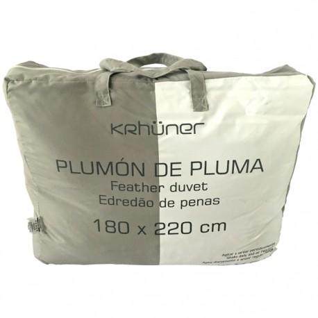 RELLENO NÓRDICO DE PLUMA 180x220CM