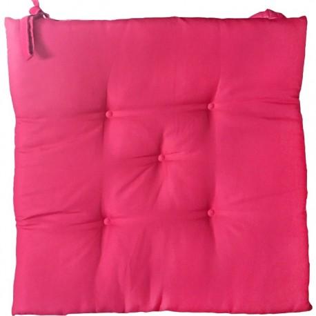 PACK 6 COJINES SILLA COLORES 40x40CM - ROSA de la categoría Decoración Textil