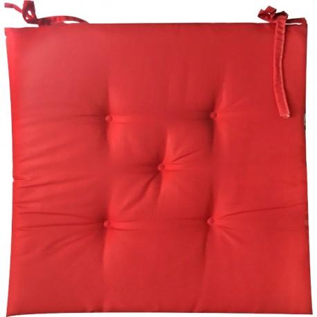 PACK 6 COJINES SILLA COLORES 40x40CM - ROJO de la categoría Decoración Textil