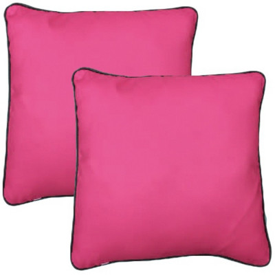 PACK 2 COJINES COLORES 40x40CM - ROSA