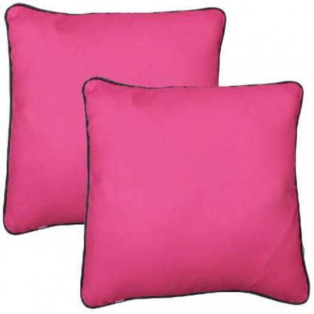 PACK 2 COJINES COLORES 40x40CM - ROSA de la categoría Decoración Textil