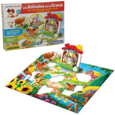 Aprende Animales Baby La De Los Granja Clementoni T1KlcFJ