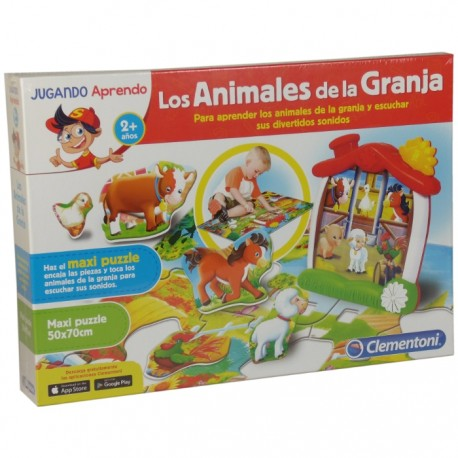 BABY APRENDE CLEMENTONI - LOS ANIMALES DE LA GRANJA