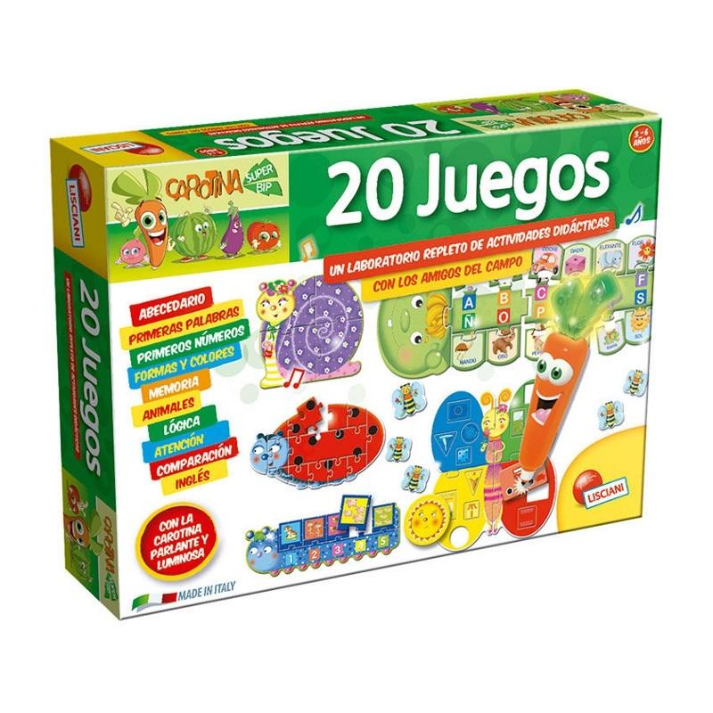 CAROTINA BOLÍGRAFO PARLANTE 20 JUEGOS