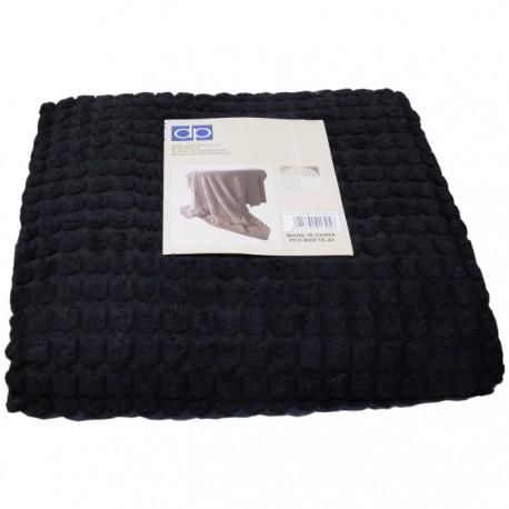 MANTA CORDUROY 130x170CM NEGRA de la categoría Decoración Textil