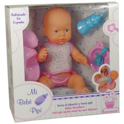 MI BEBÉ PIPÍ - ROSA de la categoría Muñecas Bebé
