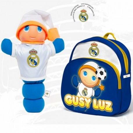 GUSYLUZ REAL MADRID + MOCHILA de la categoría Preescolar