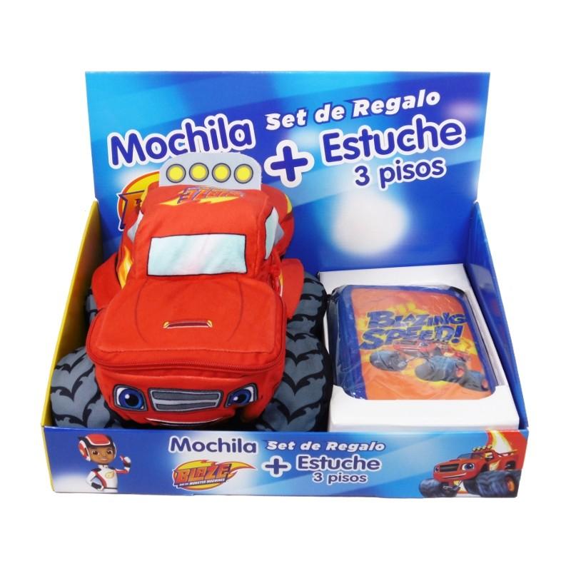 SET REGALO MOCHILA + ESTUCHE BLAZE