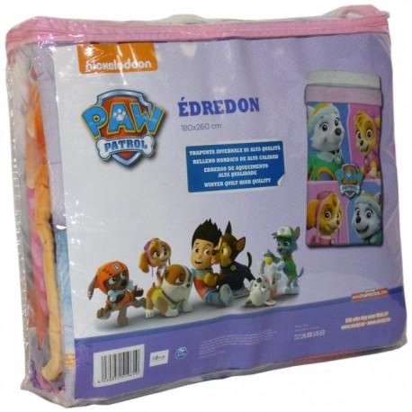 EDREDÓN PATRULLA CANINA GIRLS 180x260CM