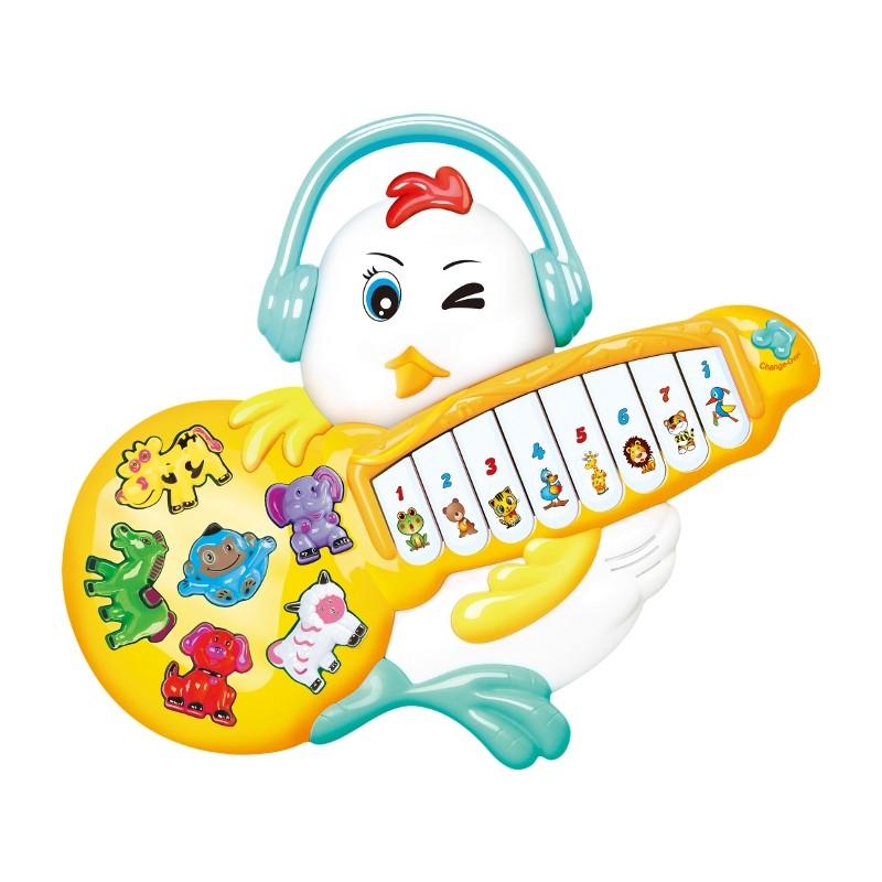 PIANO GUITARRA POLLITO ROCKERO - SURTIDO
