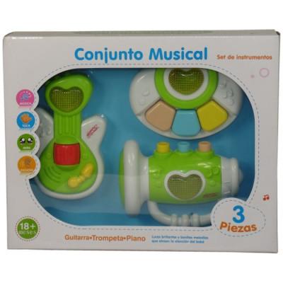 CONJUNTO MUSICAL SET DE INSTRUMENTOS