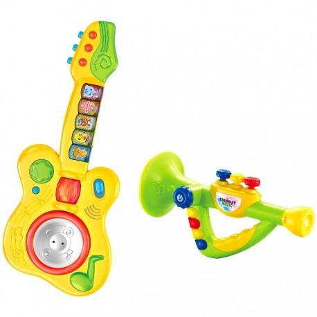 CONJUNTO MUSICAL GUITARRA Y TROMPETA de la categoría Preescolar