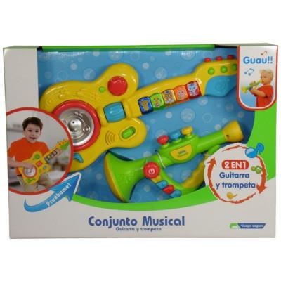 CONJUNTO MUSICAL GUITARRA Y TROMPETA de la categoría Musicales