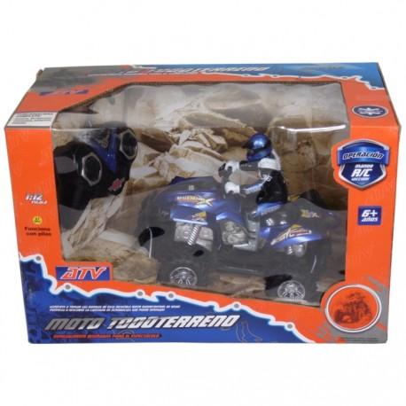 MOTO TODOTERRENO 4x4 RADIOCONTROL - AZUL