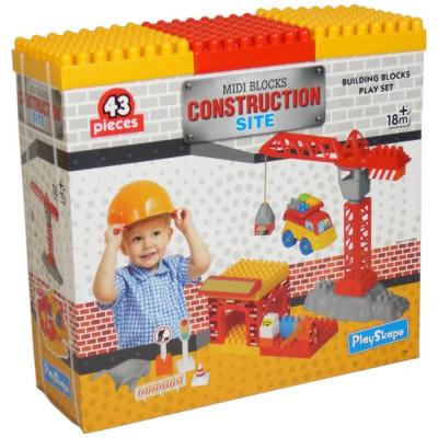 MI PRIMERA CONSTRUCCIÓN CON BLOQUES 43PZAS