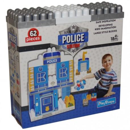 SET CONSTRUCCIÓN ESTACIÓN POLICÍA 62PZAS de la categoría Construcciones
