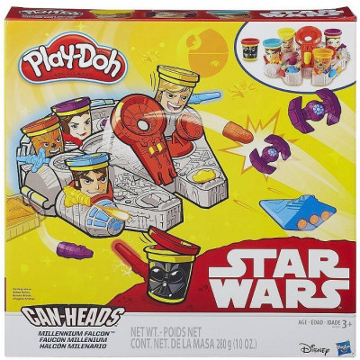 PLAY-DOH STAR WARS HALCÓN MILENARIO